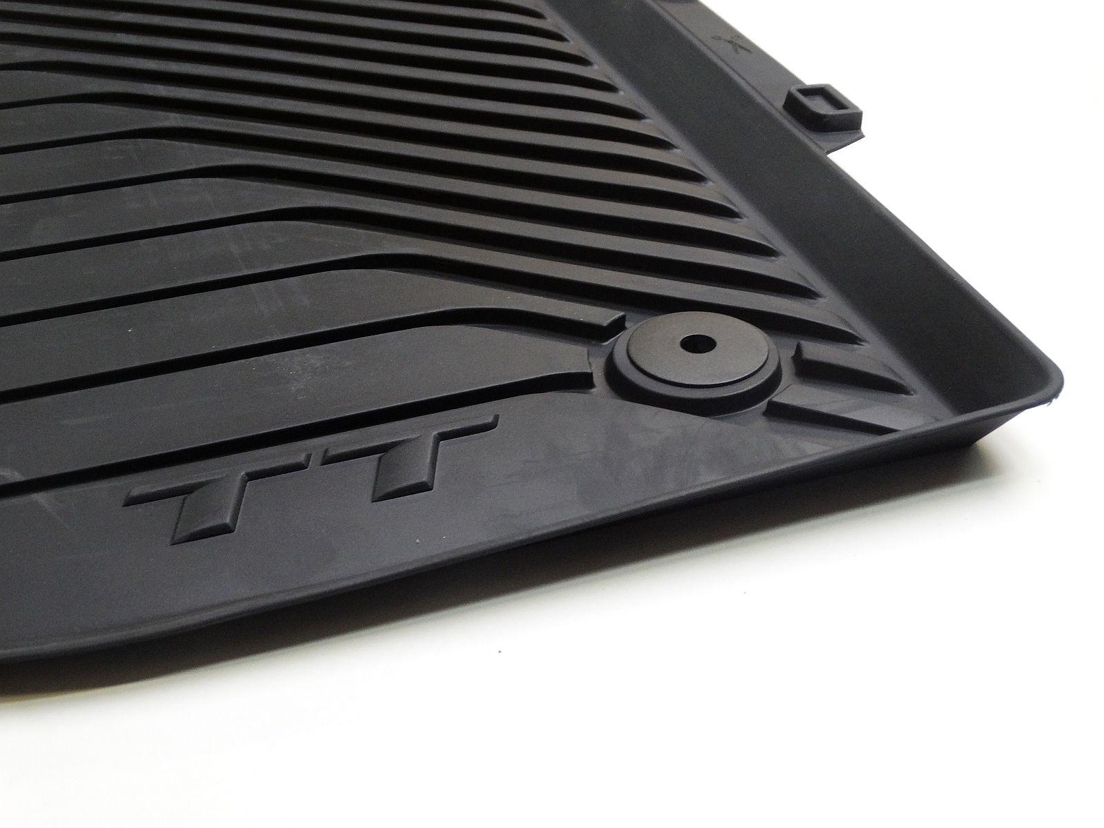 Original Audi Gummi Fußmatten Set vorn schwarz Audi TT 8S 8S1061501  041 FV