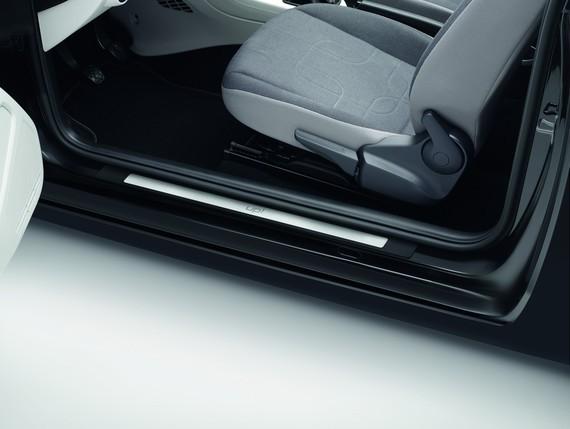 Original VW up! Einstiegsleisten Dekor Edelstahl