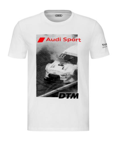 Audi Sport DTM Herren T-Shirt Motorsport weiß Gr. S, M, L, XL, XXL
