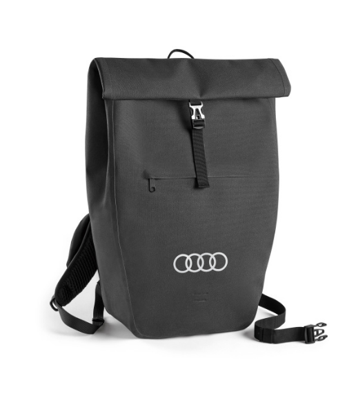 Audi Backpack Rucksack Umhängetasche Tasche Unisex dunkelgrau 3152000200