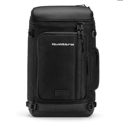 Audi Rucksack, quattro Backpack, schwarz