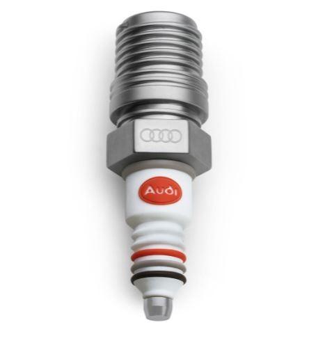 Audi heritage Zündkerze USB-Stick Datenspeicher silber/weiß 8 GB