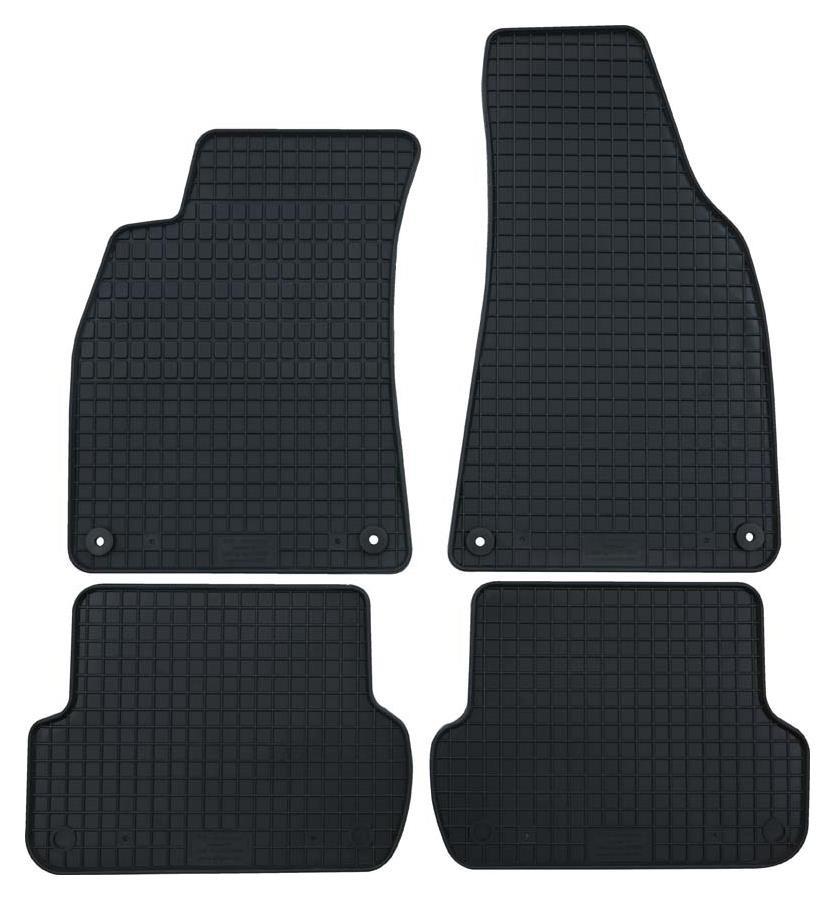 VW T-Roc Gummimatten Gummifußmatten 4-tlg. vorn + hinten schwarz