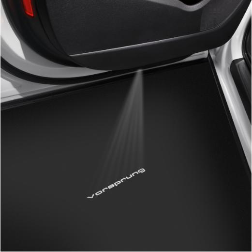 Original Audi Vorsprung LED Einstiegsbeleuchtung Einstiegsleuchten Tür Leuchten
