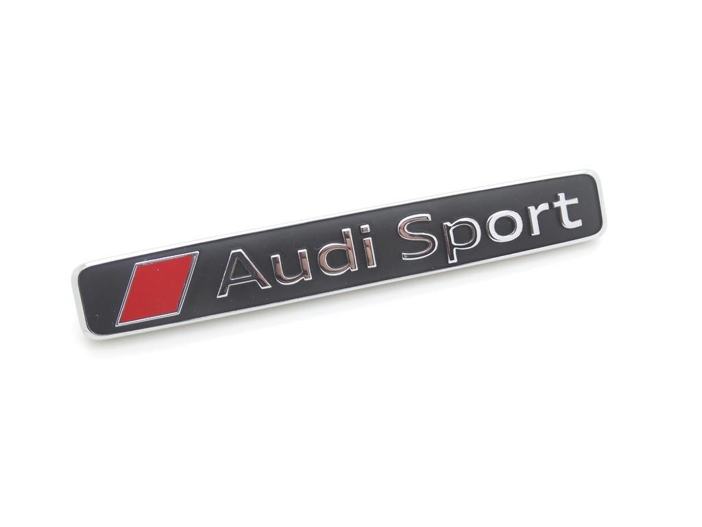 Original Audi Sport Schriftzug Emblem Logo selbstklebend