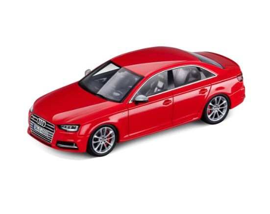 Audi S4 Modellauto Miniatur 1:43 Misanorot Rot - limitierte Auflage - 5011614113