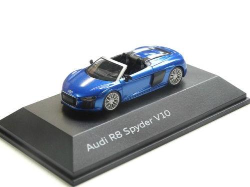 Audi R8 Spyder V10 Modellauto 1:87 Modell 2016 Arablau