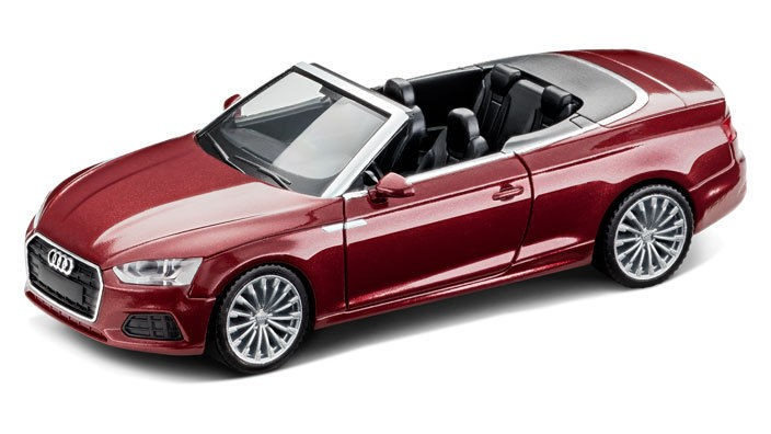 audi a5 cabriolet cabrio modellauto 1 87 modell 2017. Black Bedroom Furniture Sets. Home Design Ideas