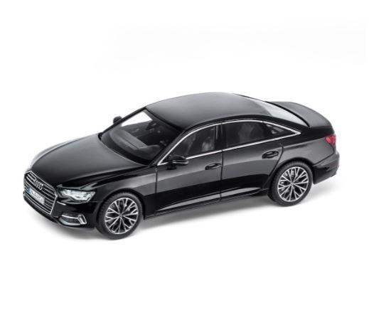 audi a6 c8 limousine 1 43 modellauto miniatur mythosschwarz. Black Bedroom Furniture Sets. Home Design Ideas
