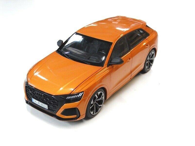 Audi RS Q8 Modellauto RSQ8 Miniatur 1:18 drachenorange orange