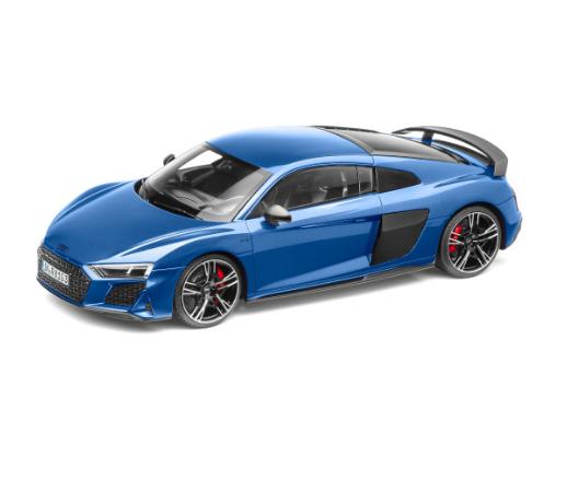 Audi R8 Coupé Modellauto 1:18 Modell 2019 Ascariblau blau - 5011918451