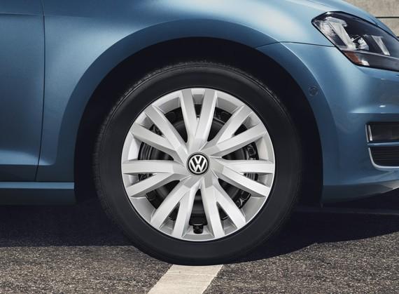 Original VW Golf VII 7 Radzierblenden Radkappen 16 ''