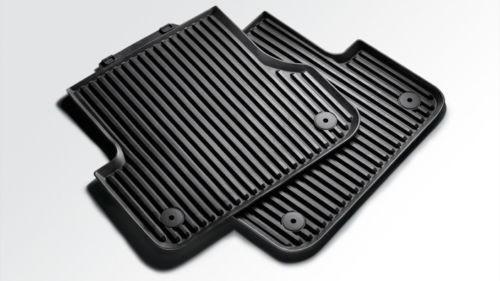 Audi Q5 Gummifußmatte hinten 8R0061511/_041