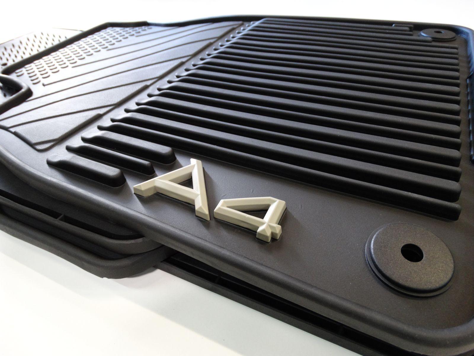 Original Audi Gummimatten vorn und hinten Audi A4 8E S4 Quattro 8E1061225 041
