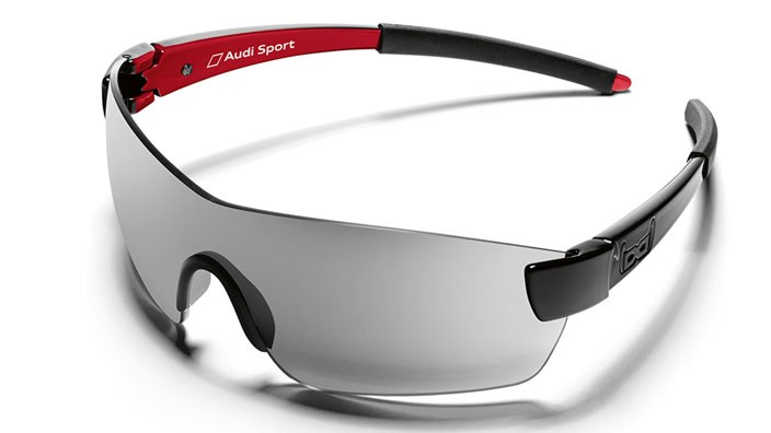 Audi Sport Sonnenbrille Sportbrille G9 Gloryfy schwarz
