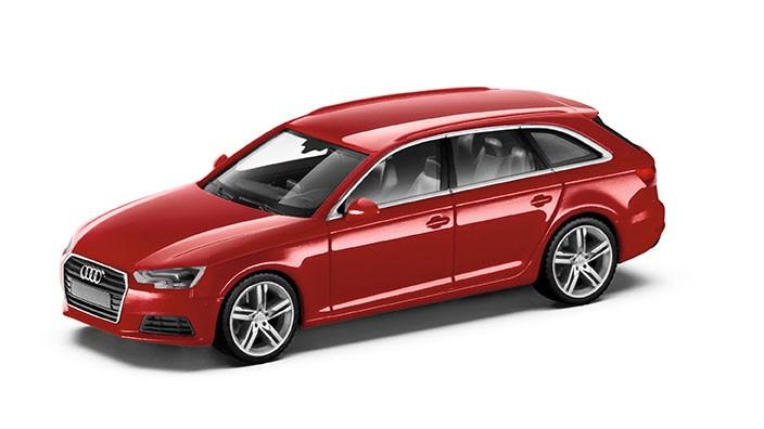 Audi A4 8W Avant Modellauto 1:87 Modell 2015 Tangorot