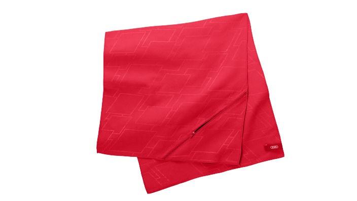 Audi Sport Microfaserhandtuch Handtuch groß 90x40 cm rot