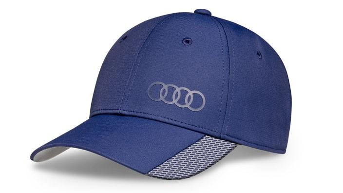 Audi Baseballcap Cap Kappe Mütze Unisex Premium blau
