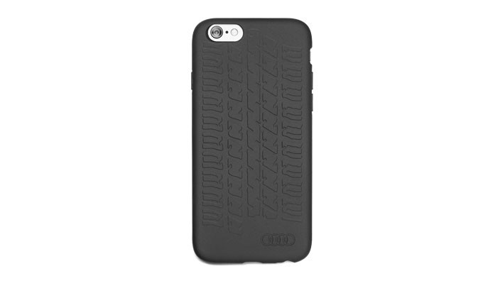 Audi Smartphone Case Cover Hülle iPhone 6 / 7 Reifenspur schwarz