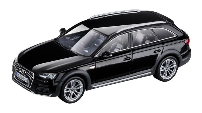 audi a4 allroad modellauto 1 43 mythosschwarz modell 2016. Black Bedroom Furniture Sets. Home Design Ideas