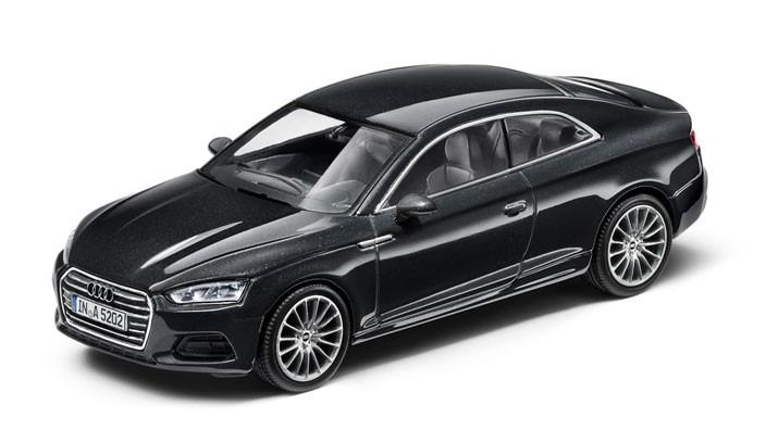 Audi A5 Coupé Modellauto 1:43 Modell 2016 Manhattengrau