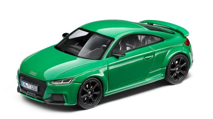 Audi TT RS Coupé Modellauto 1:43 grün