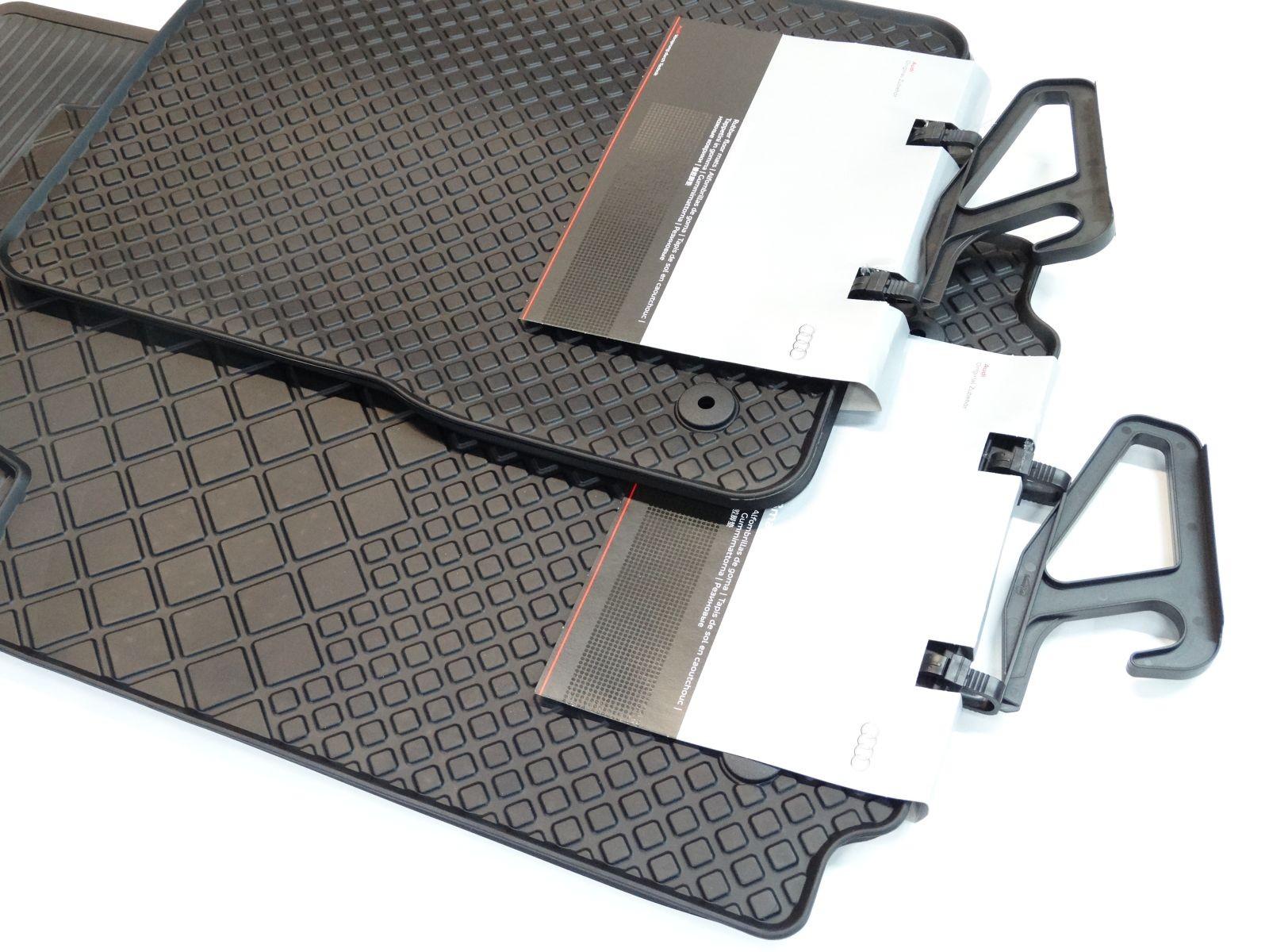 original audi a2 8z gummimatten gummifu matten vorn. Black Bedroom Furniture Sets. Home Design Ideas