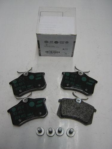 original audi a4 8e a6 4f bremsbel ge hinten 8e0698451l. Black Bedroom Furniture Sets. Home Design Ideas