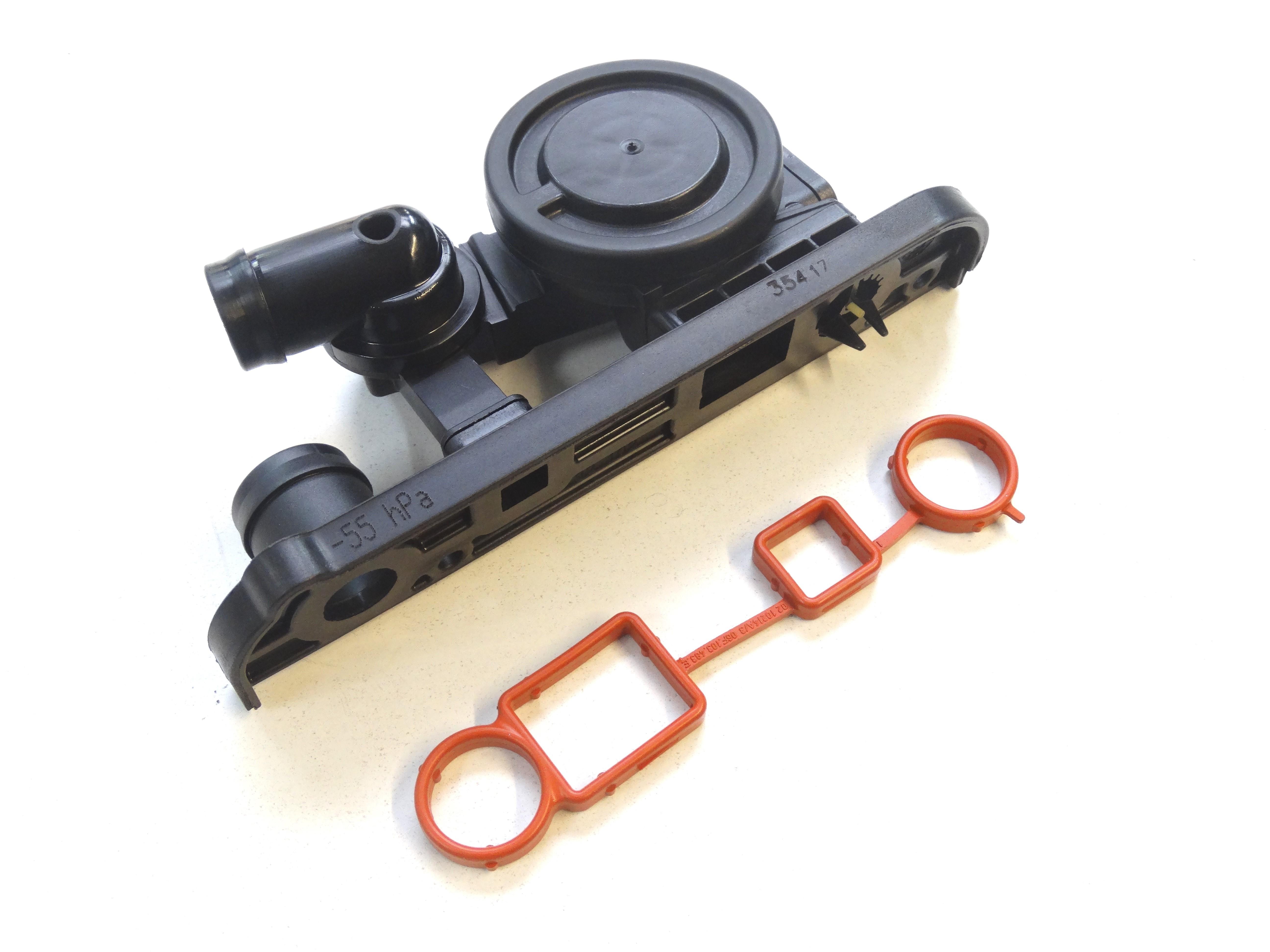 ORIGINAL VW Druckregelventil Ventil Kurbelgehäuseentlüftung 06F129101R NEU+Dtg.