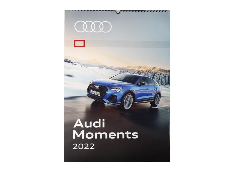 Audi Drei-Monats-Kalender 2022 Wandkalender Fotokalender Calender Bürokalender