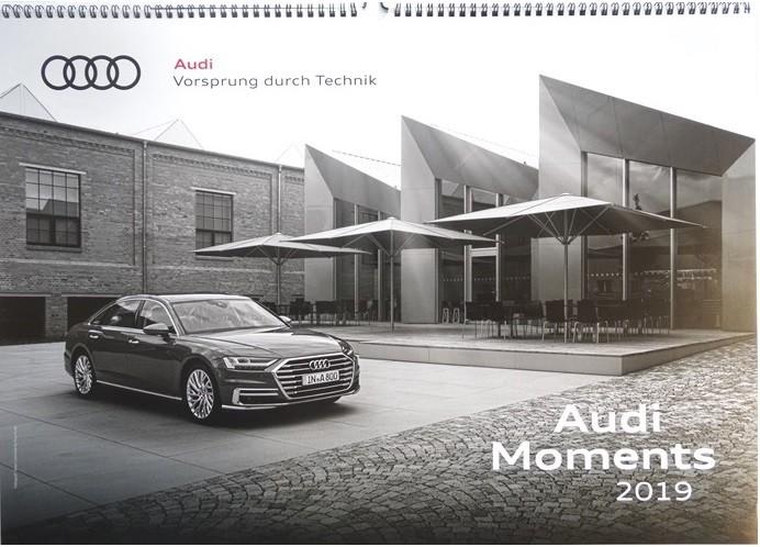 Audi Moments 2019 Wandkalender Kalender 59x42 cm