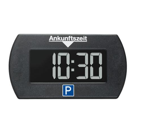 PARK LITE Parklite Mini elektronische Parkscheibe Parkuhr schwarz mit Zulassung