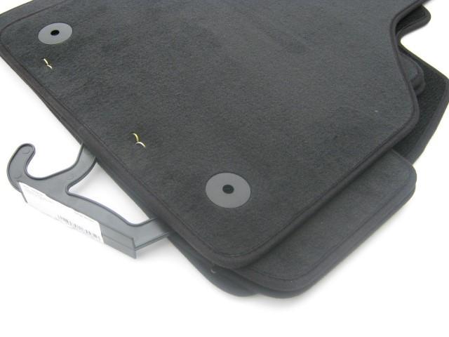 VW UP ab 11/2011 Textilfußmatten Stofffussmatten schwarz