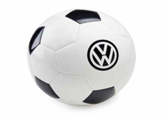 Original VW Fussball Gr.5 Schwarz/Weiß Mit Volkswagen Logo 231050540