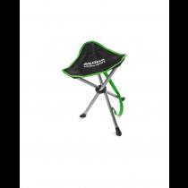 Skoda Motorsport Dreibeinhocker Campinghocker Stuhl schwarz grün 000069635E
