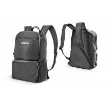 Skoda Rucksack Tasche Backpack Umhängetasche faltbar grau 000087327J