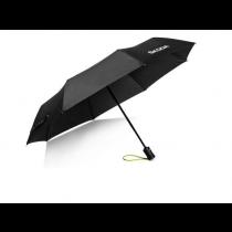 Skoda Taschenschirm Regenschirm Schirm Schriftzug Logo schwarz grün 000087620P