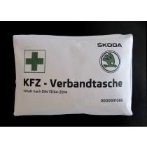 Original Skoda KFZ Auto Verbandtasche Verbandkasten nach DIN 13164 - 000093108G