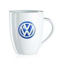 VW Kaffeebecher Kaffeetasse Kaffeepott weiß