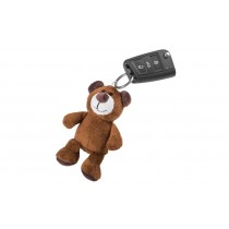Skoda Schlüsselanhänger Teddybär braun Kodiaq 11cm