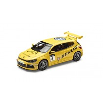 "VW Scirocco R-Cup 2012 1:43 Team ""Dunlop"" gelb"