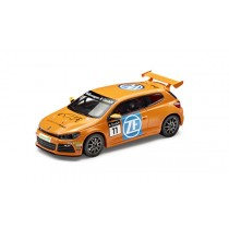 "VW Modellauto Scirocco R-Cup 2012 1:43 Team ""ZF Sachs"" orange"