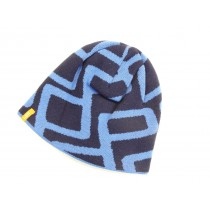 VW Up! Mütze Strick Beanie blau
