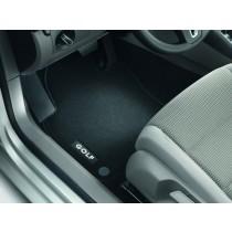 Original VW Golf V + VI Textilfußmatten Stoffmatten Premium vorn + hinten