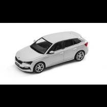 Skoda Scala Modellauto Miniatur 1:43 Moon-Weiß Metallic 657099300 S9R