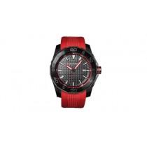Audi Sport Uhr Dreizeigeruhr Armbanduhr Chronograph rot