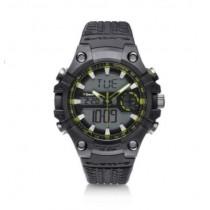 Audi quattro Outdooruhr Armbanduhr Uhr Watch grau/grün