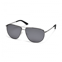 Audi Sonnenbrille Brille Sunglasses Edelstahl Metall gun metal 3112000100