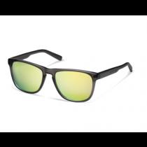 Audi quattro Sonnenbrille Brille verspiegelt anthrazit / gelb 3112000400