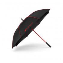 Audi Sport Stockschirm Regenschirm Schirm schwarz/rot groß